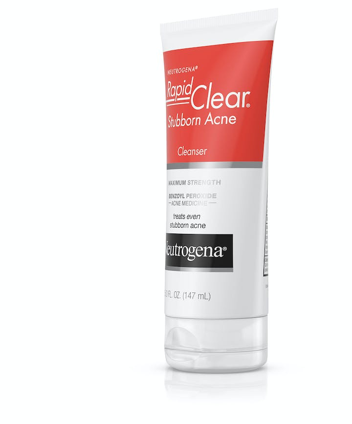 rapid clear stubborn acne cleanser review