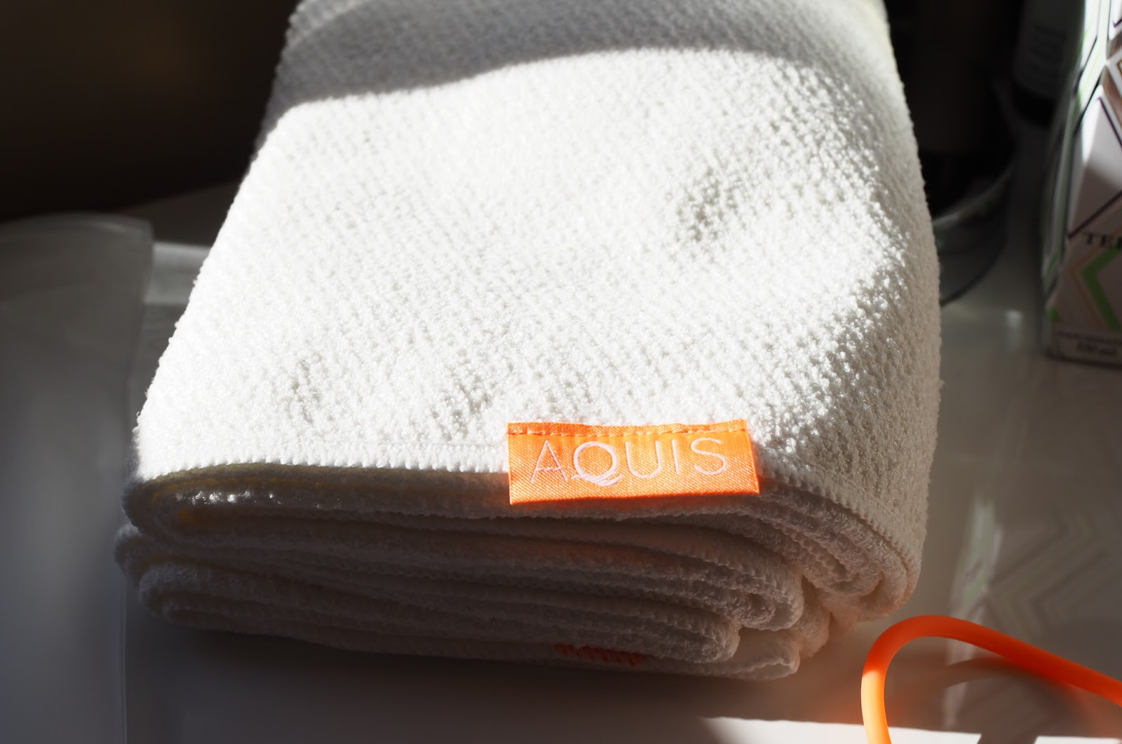 aquis lisse luxe hair towel review
