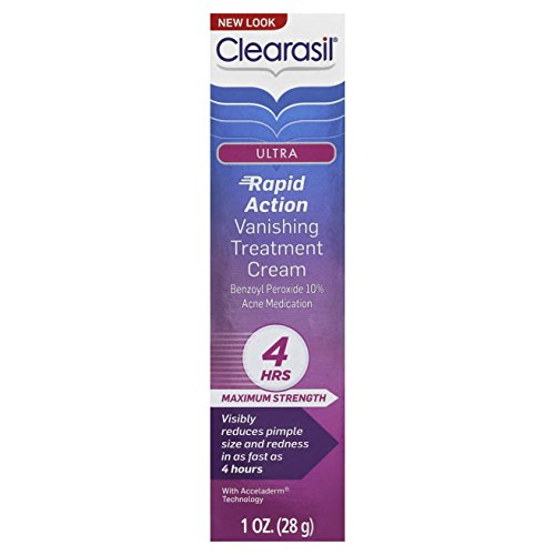 clearasil ultra rapid action vanishing treatment cream review
