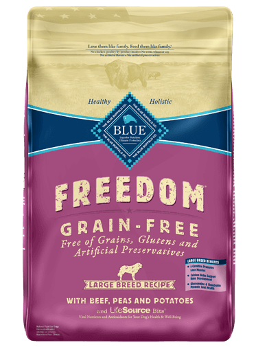 blue buffalo large breed review