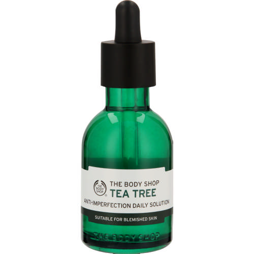 body shop tea tree imperfection daily solution review