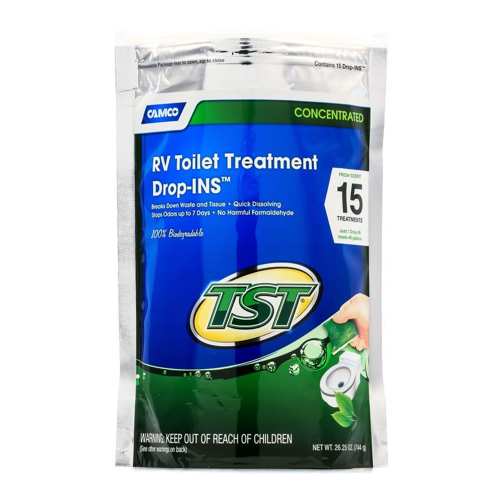 camco rv toilet treatment review