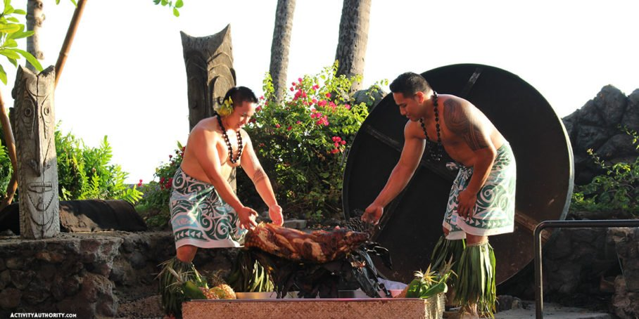 drums of the pacific luau maui reviews