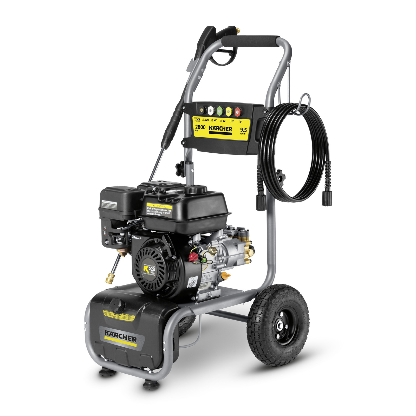 karcher 2800 psi pressure washer review